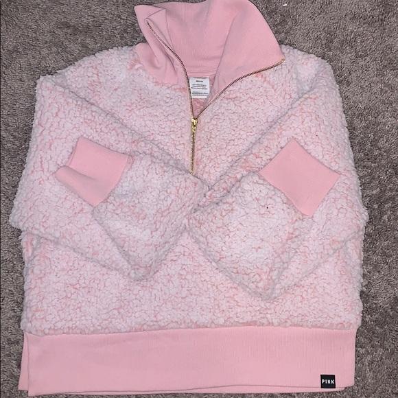 Pink flurry jacket